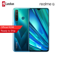 Realme ש 6.3 אינץ Moblie טלפון Snapdragon 712AIE אוקטה Core 48MP Quad מצלמה נייד OPPO VOOC 20W מהיר מטען smartphone(China)