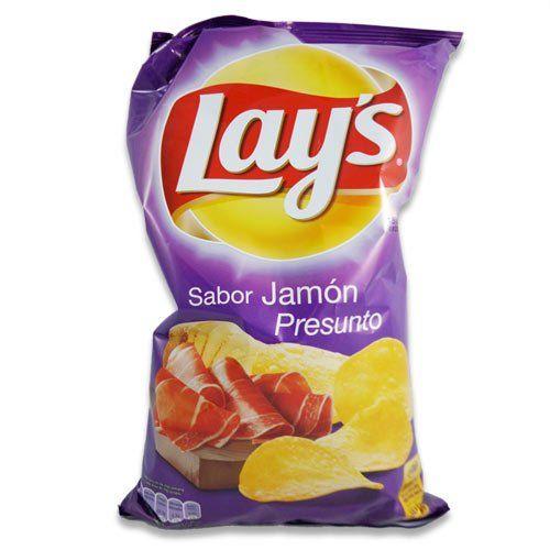 Sabor Jamon Lays - Potato Chips Ham Flavor