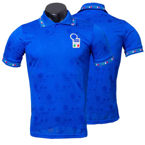 Image 3 - Italië 1994 Retro Roberto Baggio Camiseta Thuis Weg Truien Hoge Kwaliteit Tee T shirt Aanpassen Melancholie Prins