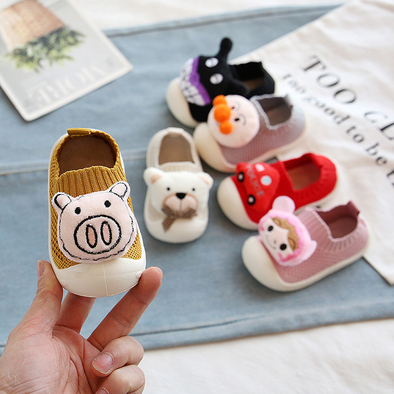 Infant Toddler Shoes 2020 Spring Baby Girls Boys Casual Mesh Shoes Soft Bottom Comfortable Non-slip Kid Baby First Walkers Shoes
