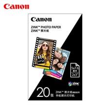 Canon мгновенная цветная фотобумага ZP-2030 3 дюймов Чехол-портмоне с отделением для карт фото фотобумага для камеры Мгновенной Печати Цвет PV-123 специальный фотобумага