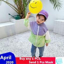 цена на XINI MOMMY 2020 Spring Autumn Sheer coat  baby jacket  girls coat  boys jacket  toddler jacket  kids jacket baby boy jacket Y113