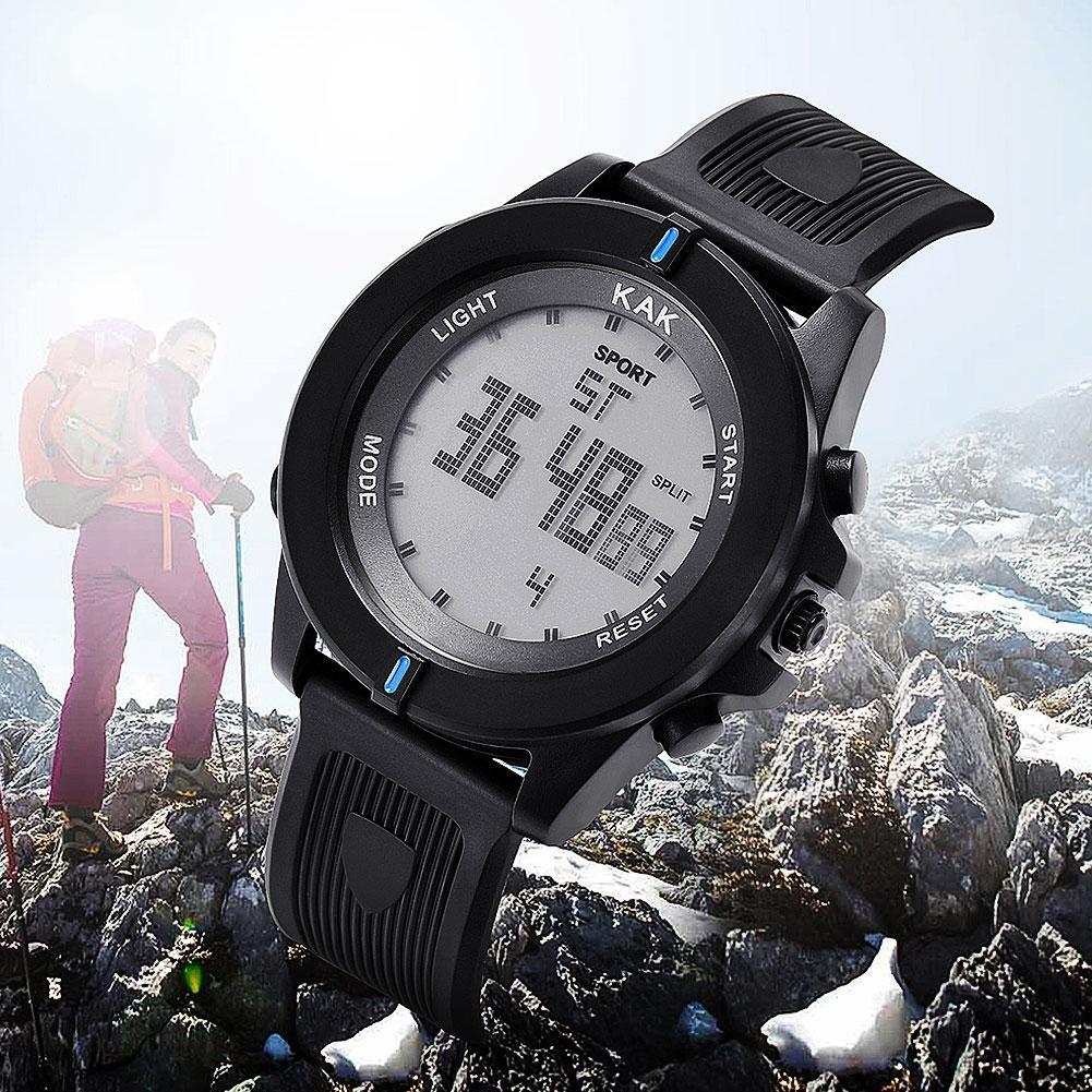 KAK Luxury Sports Digital Watch Men Female Military Army LED Waterproof Analog Wrist Watch Unisex Couple Watch Top Brand 커플 시계