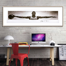 SELFLESSLY Michael Jordan Wings Posters Wall Art Canvas Paintings For Living Room Modern Prints Decoration