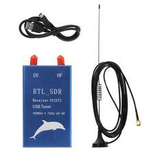 RTL2832U + R820T2 100Khz-1.7Ghz Uhf Vhf Hf Rtl. Sdr Usb Tuner Ontvanger Am Fm Radio Dropship