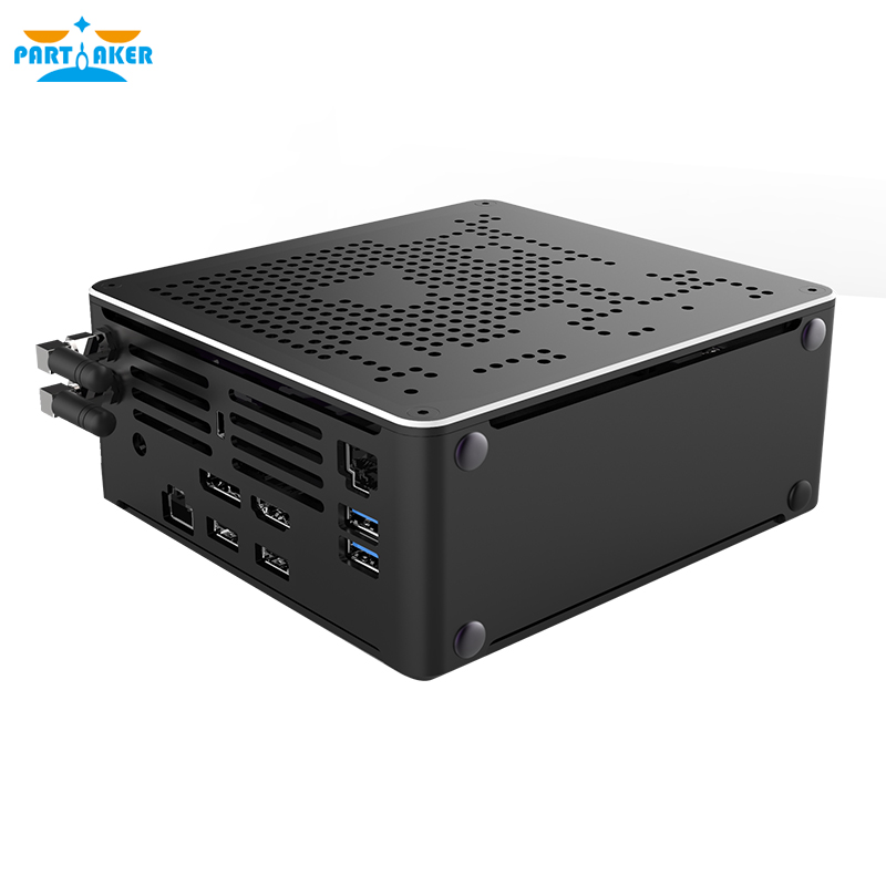 Gaming Mini PC i9 9880H 8 Core 16 Threads 2*DDR4 2666MHz 2*M.2 Nuc Windows 10 Pro Linux Desktop Computer AC Wifi DP HDMI