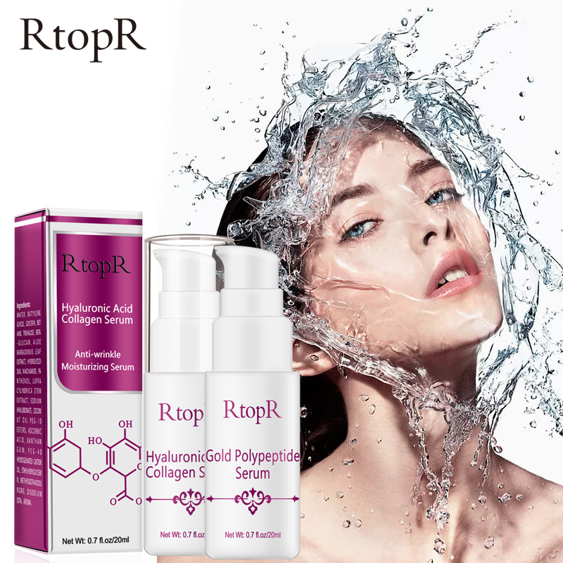 Hyaluronic Acid Collagen Face Serum Whitening Anti-Aging Facial Serum Acne Treatment Anti Wrinkle Skin Care Essence Face Care