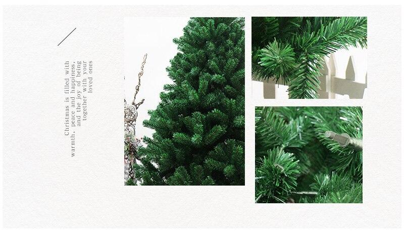 Strongwell 45/60/90/120 см Шифрование зеленое дерево мини искусственная Рождественская елка украшения светодиодное Рождественское украшение Декор