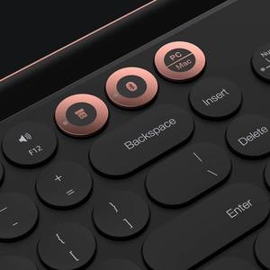 Image 5 - Miiiw Bluetooth Dual Mode Keyboard 104 Keys 2.4GHz MultiSystem Compatible For Windows PC Mac Wireless Portable Keyboard