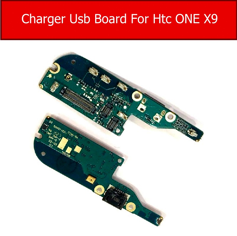 100% Genuine USB Charger Board For HTC One X9 Power Charging Port Dock USB Board Flex Ribbon Cable Repair Replacement Parts
