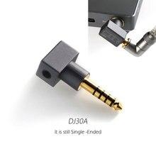 Dj30a fone de ouvido adaptador fone de ouvido 3.5 adaptador aplicar a 3.5mm cabo do fone de ouvido a partir de 4.4 tomada de saída para cayin/fiio/hiby/shanling