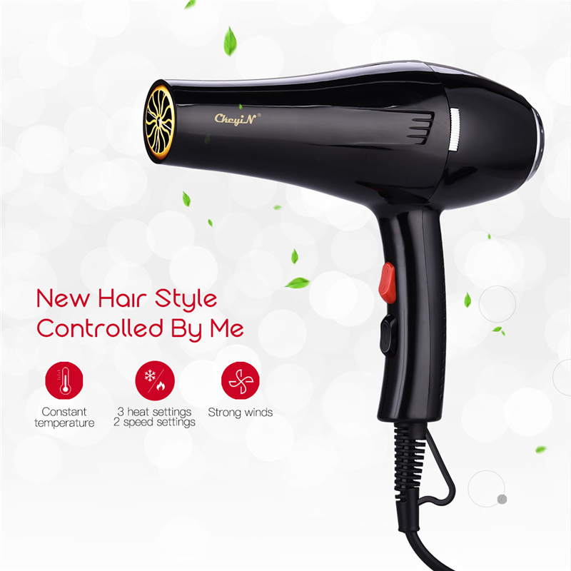 5000W Negative Ion Electric Hair Dryer Salon Professional Blow Dryer 2 Speed 3 Heat Setting Barbershop Hairdressing Hairdryer 31
