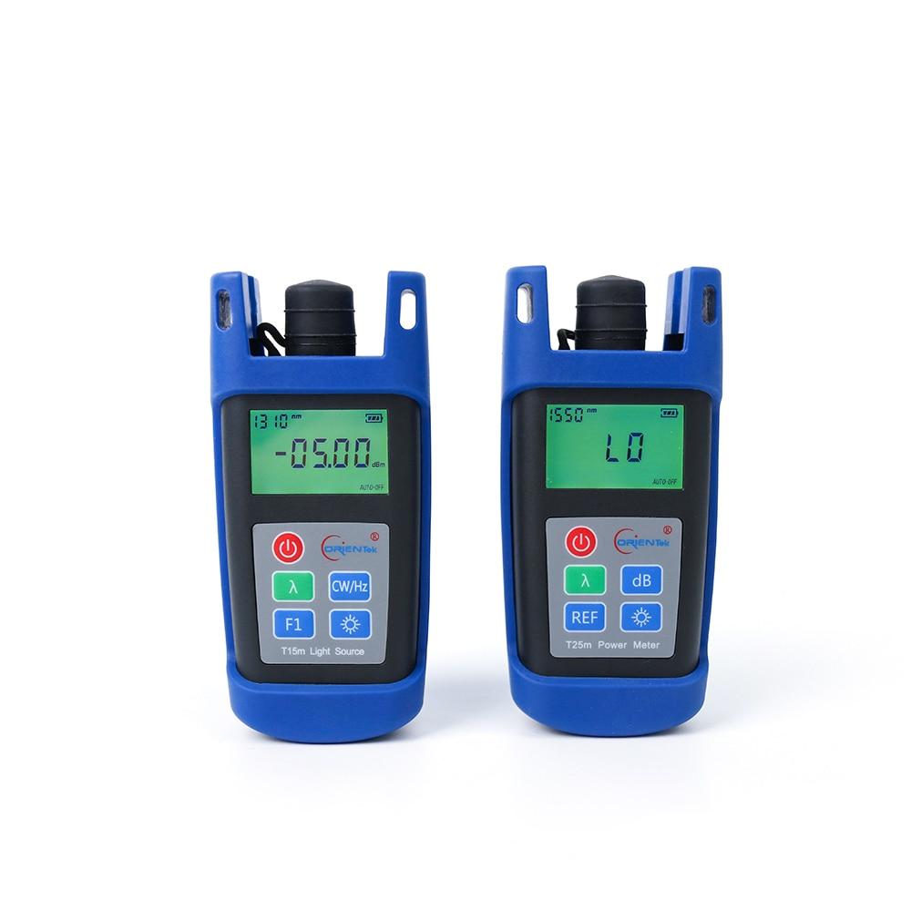 Mini Optical Power Meter Orientek T25m OPM - T15m Optical Laser Source / Optical Light Source OLS