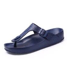 Men Flip Flops Summer Shoes Man Outside Beach Slippers EVA Light Soft Slippers Women Footwear Plus Size Male Sandals Flat Shoes