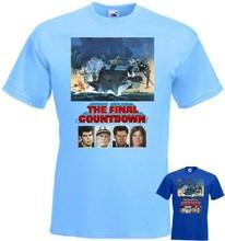 A contagem regressiva final v5 k. Camiseta douglas m. sheen azul todos os tamanhos s... 5xl