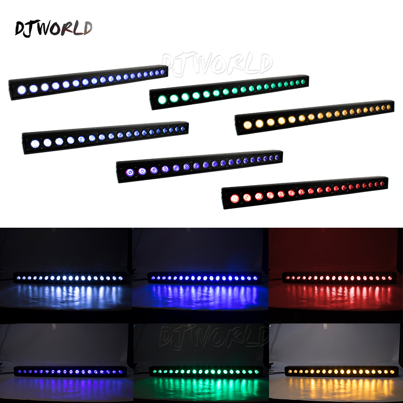 LED Wash Wall Light18x18W RGBWA+UV 6in1 Stage Lighting Running Horse Point Control For Stage TV Studio Church Party Disco Club