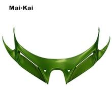 For KAWASAKI NINJA250 NINJA400 2018-2019 Motorcycle Front Fairing Aerodynamic Winglets ABS Plastic Cover Protection Guards