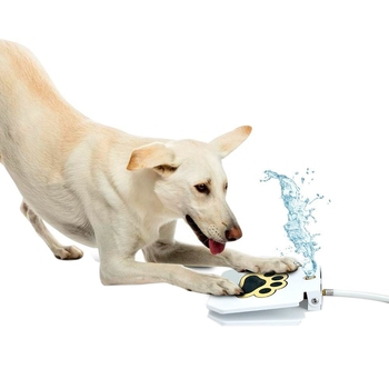 Outdoor Pet Stepping On The Water Dispenser Pet Sprinkler Dog Water Fountain Pet Water Toys Garden Pet Supplies-ABUX