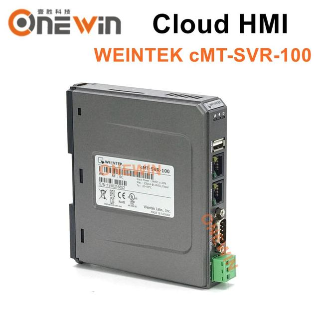 Weintek cMT SVR 100 clound hmi touch screen host controlador ethernet para o sistema de telefone móvel tablet cMT iV5