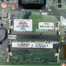 JU PIN YUAN 763730-501 763730-001 763730-601 DAY11AMB6E0 für HP ENVY 17T-K 17-K Laptop motherboard mit 840M 2GB i5-4210U