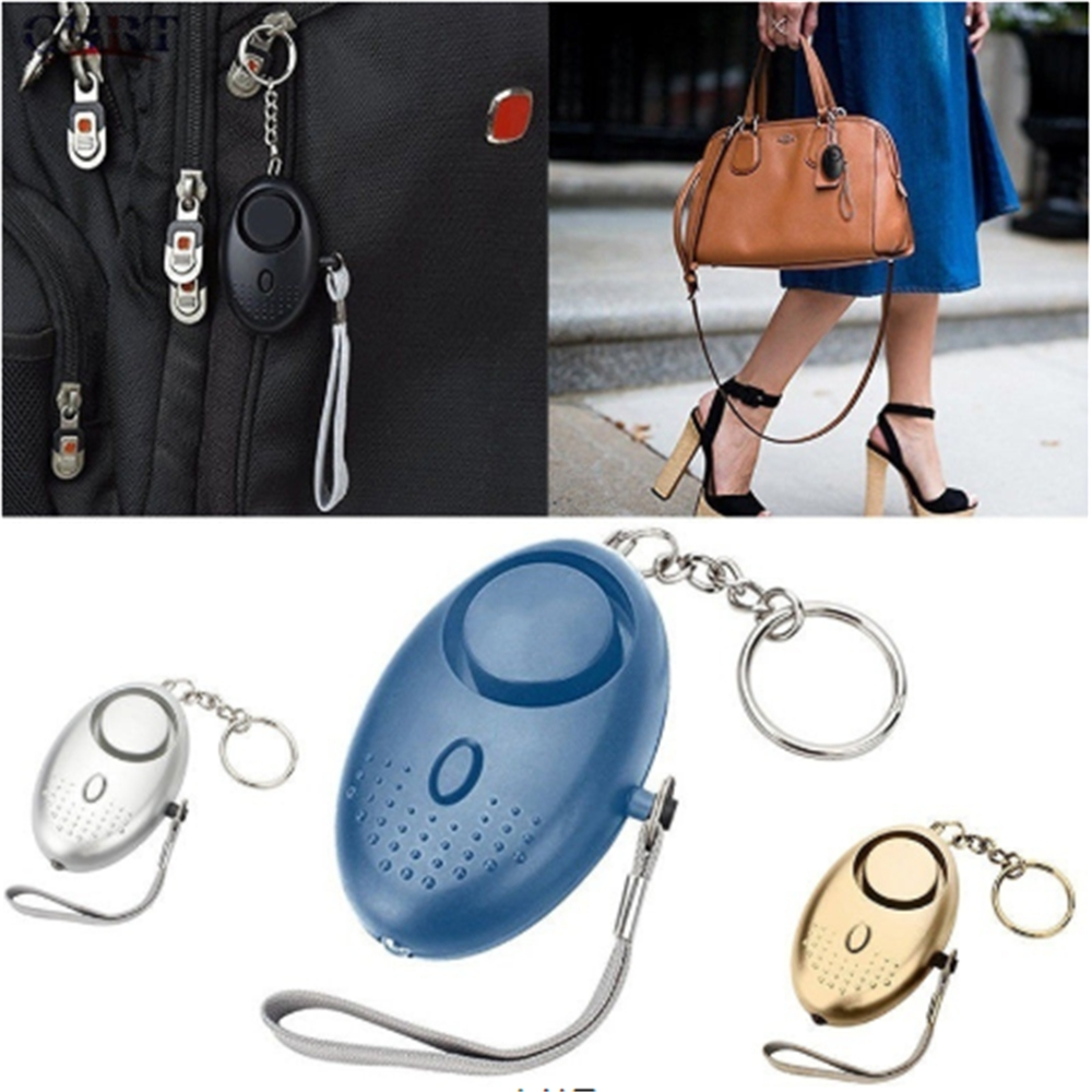 130db Self Defense Personal Defense Siren Anti-attack Security For Children And Women Carrying A Panic Alarm Security 19 Alarm