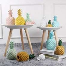 Creative Jelly Color Pineapple Ornaments Resin Kids Gift Piggy Bank Fruit Cute Girls Present Home Decoration Accessories