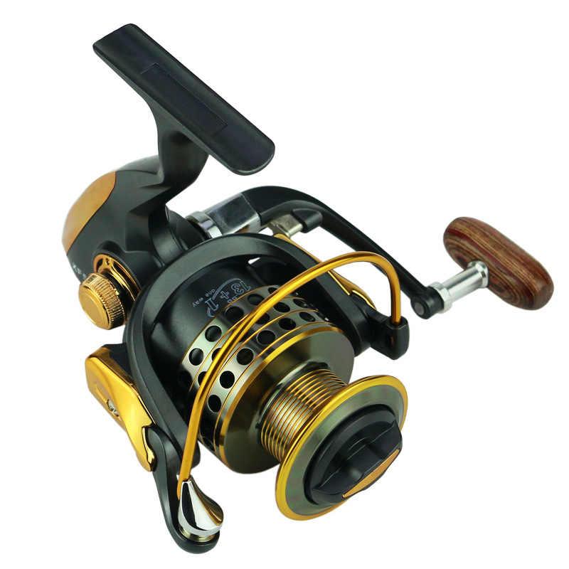 خزان بركة الصيد بكرات 13 + 1BB 5.5: 1 المعدني الكامل ل وحدة تغذية أسماك XF1000-7000 Baitcasting بكرة الغزل بكرات ل قضيب