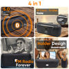 Deelife Portable Bluetooth Speaker Wireless with FM Radio 10W Stereo Column for Mobile Phone Holder Support BT 5.0 TWS Speakers 2