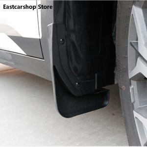 Image 2 - for Kia Seltos KX3 2020 2021 Car Front Rear Mudflaps Fender Flares Mud Flaps Painted Mudguards Splash Guards Accessories