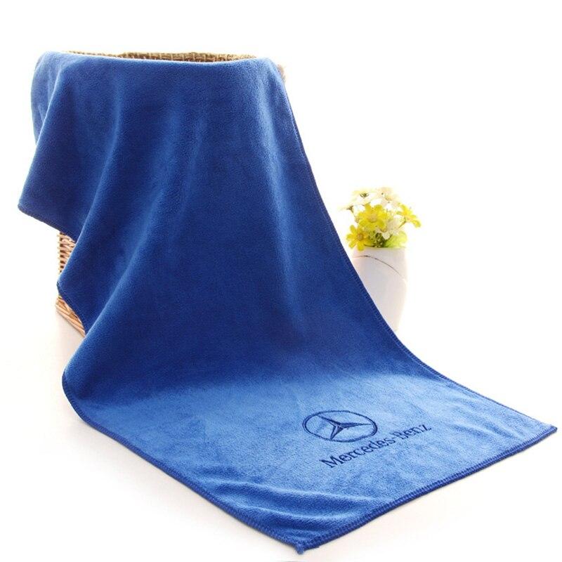 For Mercedes Benz AMG A B R G Class GLK GLA Car Wash Microfiber Towel Car Cleaning Drying Cloth Hemming Car Care Car Wash Towel