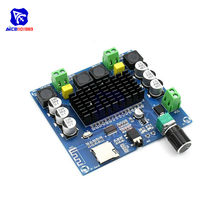 diymore XH-A104 TPA3116 Bluetooth 4.1 Digital Power Amplifier Board 2x50W Stereo AMP Module Support TF Card AUX Potentiometer(China)