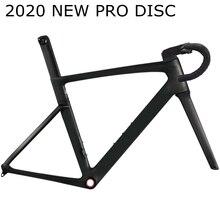 2020新T1000プロディスクディスクブレーキカーボンロードバイクフレーム自転車レースフレームセットハンドルステム台湾xdb dpd船
