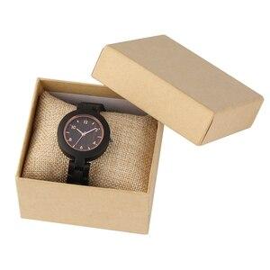 Image 5 - Relógios femininos de madeira simples reloj mujer miyota movimento de quartzo fino pulseira de madeira completa senhoras relógio de pulso personalizado presentes superiores
