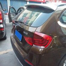 цена на New design For BMW X1 E84 Spoiler 2015 2016 2017 2018 2019 X1 E84 SPOILER High Quality ABS Material Car Rear Wing Primer color