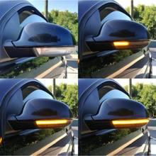 Indicador de espejo de luz LED intermitente dinámico, para Passat B6 Golf 5 MK5, superventas, 2019