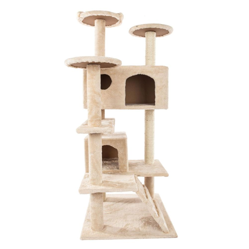 Solid Sisal Rope Plush <font><b>Cat</b></font> Climb <font><b>Trees</b></font> <font><b>Cat</b></font> Toy <font><b>Pet</b></font> <font><b>Cat</b></font> <font><b>Tower</b></font> Climbing Frame image