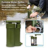 Portable Outdoor Water Purifier Camping 0.01 Micron Water Filter for Hiking Emergency Backpacking|Filtereinsätze für Wasserkrüge|Heim und Garten -