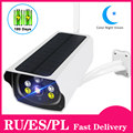Солнечная панель WIFI камера 1080P HD безпроводная батарея ip-камера наружная IP66 Водонепроницаемая 2MP CCTV видео PIR Двусторонняя аудио
