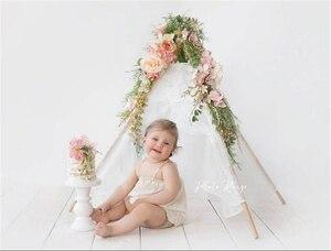 Image 3 - Dvotinst bebê recém nascido fotografia adereços mini wigwam tenda decoração fotografia acessórios infantil estúdio tiro foto prop