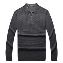 Comfortable Billionaire Sweater Wool England Zipper Men's New Warm Business Embroidery