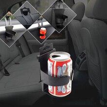 Soporte de teléfono para coche, soporte de teléfono para asiento trasero, porta botellas de bebida para ventana automática, Soporte para vasos colgante