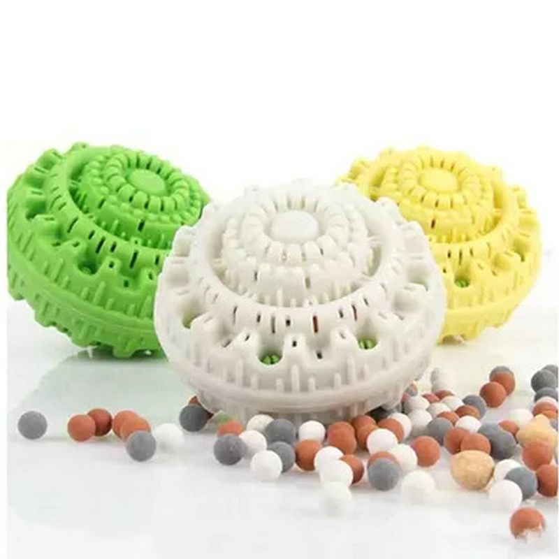 Powerful Decontamination Washing Laundry Ball Anti Roll Up Anti Hair Reusable Laundry Ball for Washing Machine Appliance Parts