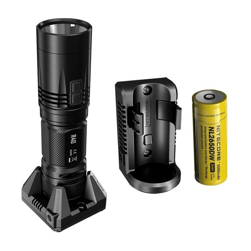nitecore lanterna led r40 v2 com 21700 baterias 01