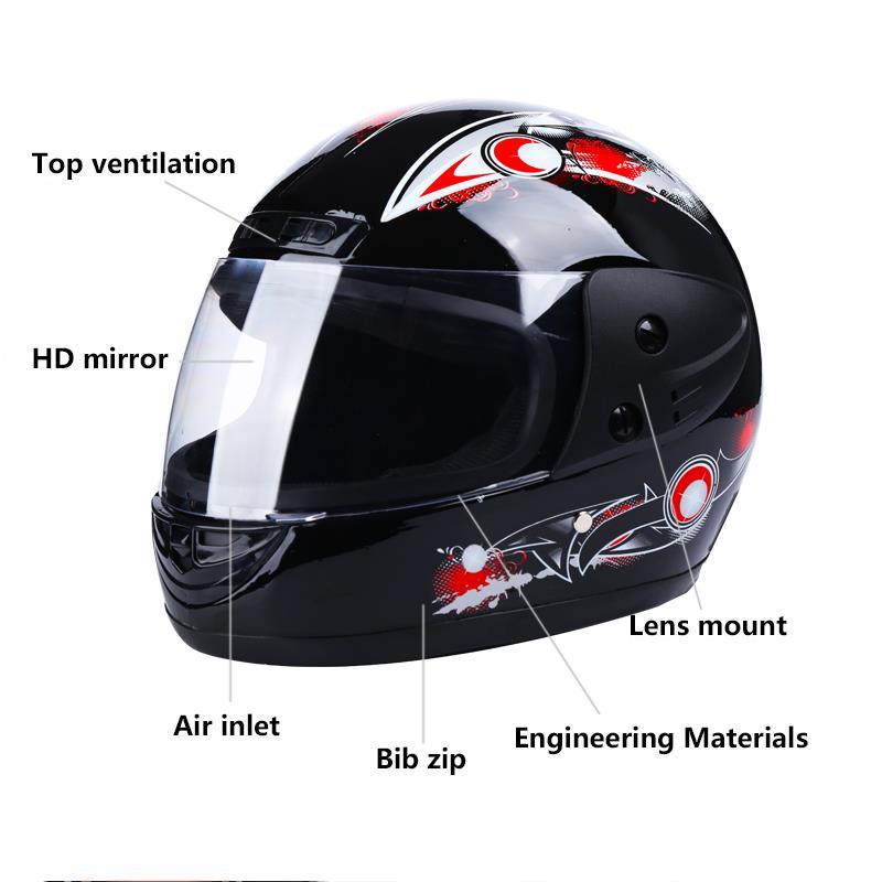2020 New Motorcycle Helmet Full Face DOT Moto Motocross Off-road EPS Professional Capacetes ATV Downhill Racing Dirt Bike Cross 4