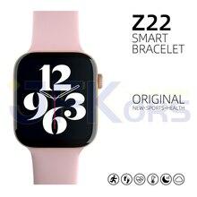 Montre connectée Z22 pour hommes et femmes, Bracelet dactivité physique, fréquence cardiaque, pour Apple Ios et Android, PK IWO 13 X6 X7 X8, 2021
