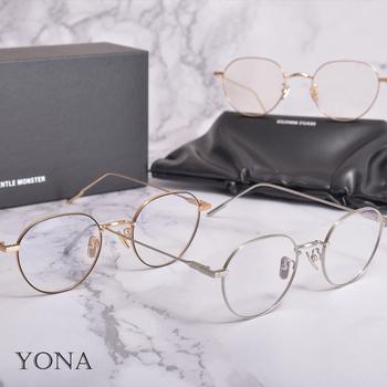 GM 2021 w nowym stylu metalowe okrągłe okulary korekcyjne rama delikatne oprawki do okularów korekcyjnych YONA mężczyźni kobiety okulary do czytania tanie i dobre opinie GENTLE ICC Unisex STOP CN (pochodzenie) Stałe FRAMES Akcesoria do okularów For men and women