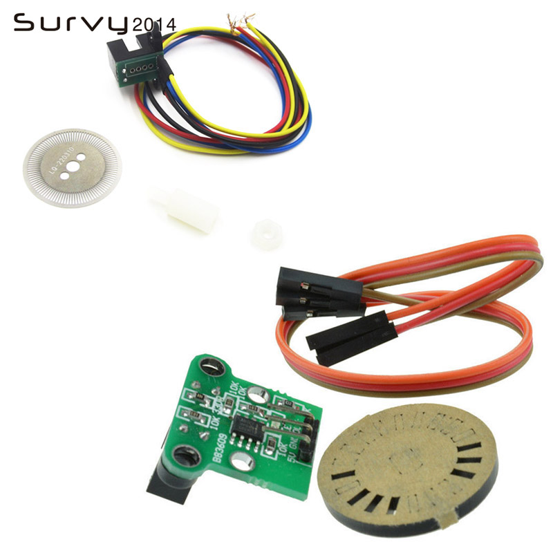 HC-020K Double Speed Measuring Module w/ Photoelectric Encoders to Test Motor's Rotational Speed diy electronics