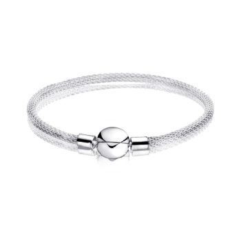 DIY Birthday Gift Sterling Silver 2020 Trendy Lady NEW 100% 925 Classic Bracelet New Arrivals Women Jewelry