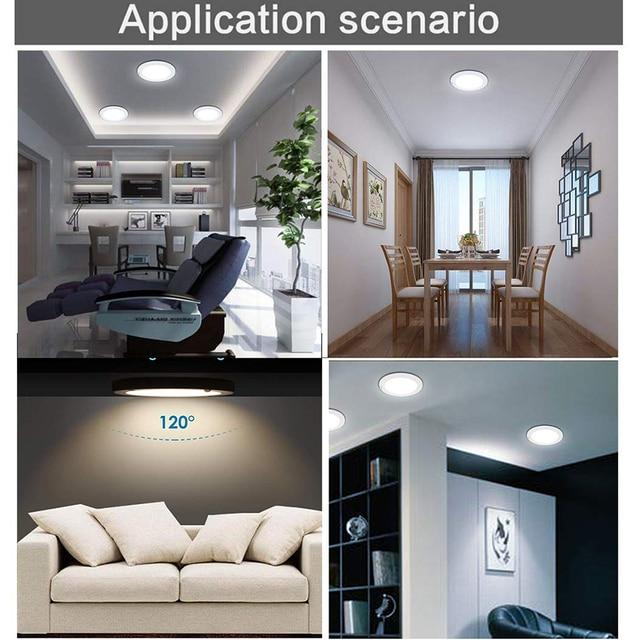 Φωτισμός οροφής led με ανίχνευση κίνησης