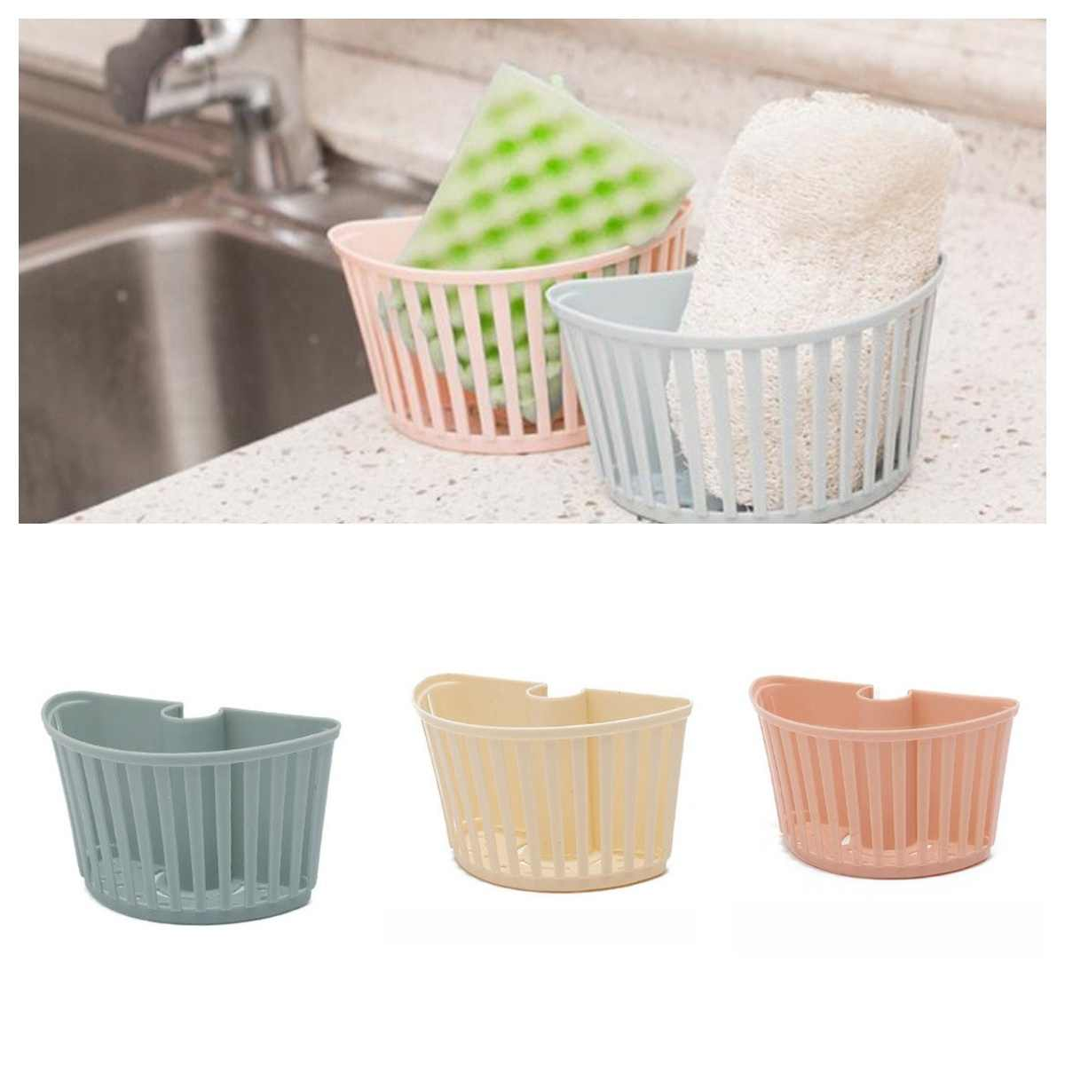 Debris Rack Drain Rack Sink Plastic Hanging Basket Racks Shelf Basket Spout Holder Sponge Storage Kitchen Supplies Faucet Rack